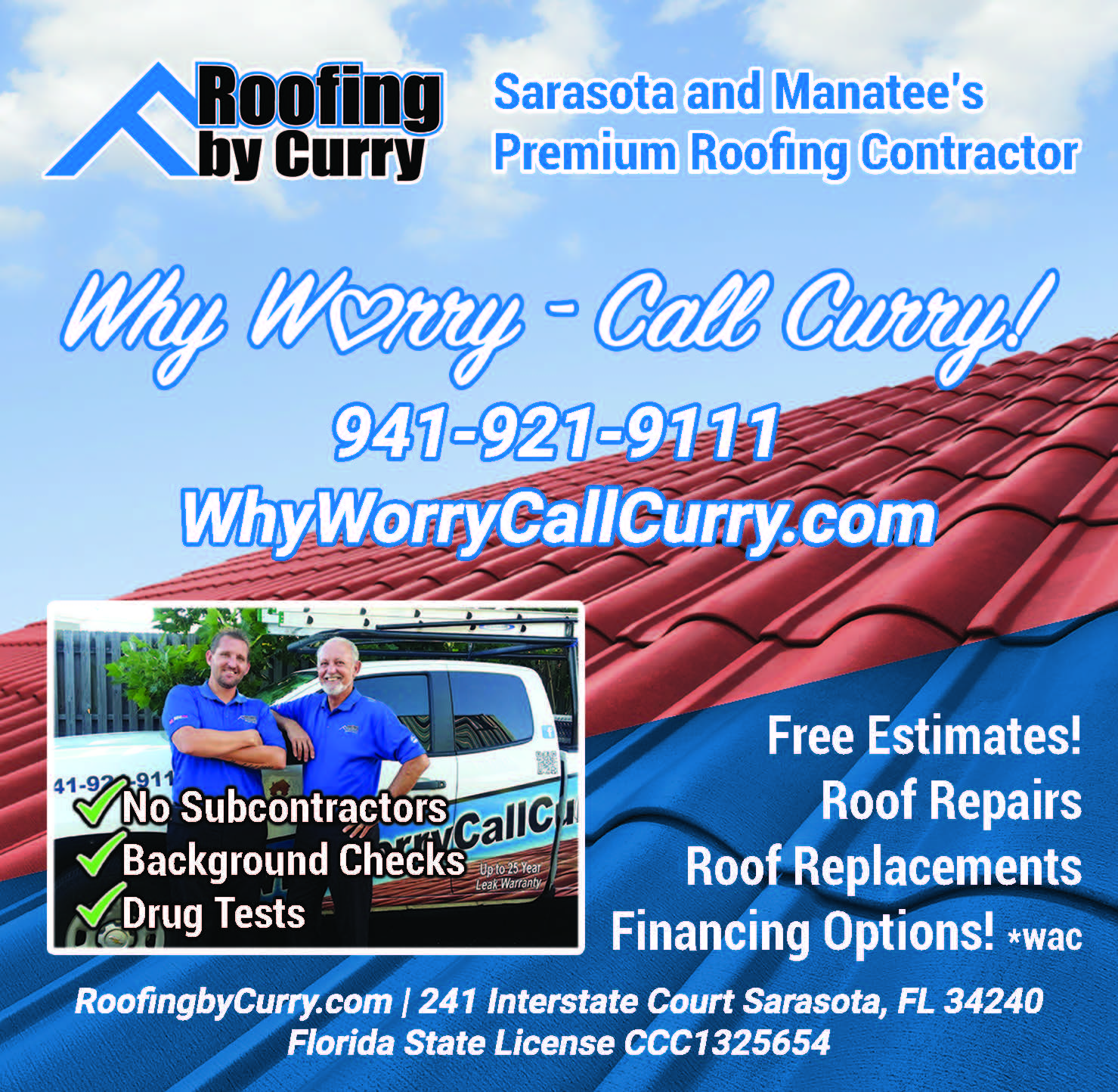 Roofing by Curry Non Model Square